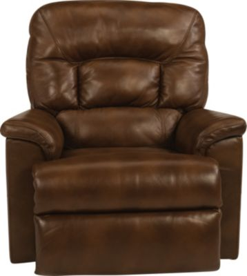Flexsteel Great Escape Leather Power Glider Recliner