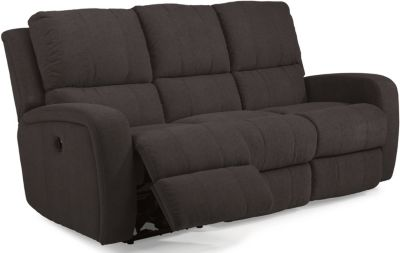 Flexsteel Hammond Charcoal Power Reclining Sofa