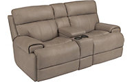 Flexsteel Margot Power Reclining Console Loveseat