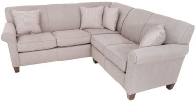 Flexsteel Dana 2-Piece Gray Left-Side Sofa Sectional
