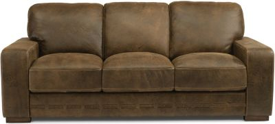 Flexsteel Buxton 100% Leather Sofa