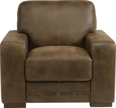Flexsteel Buxton 100% Leather Chair