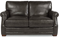 Flexsteel Chandler 100% Leather Loveseat