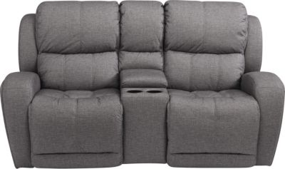 Flexsteel Chaz Power Reclining Console Loveseat