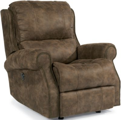 Flexsteel Miles Power Glider Recliner