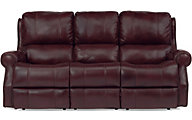 Flexsteel Miles Leather Power Reclining Sofa