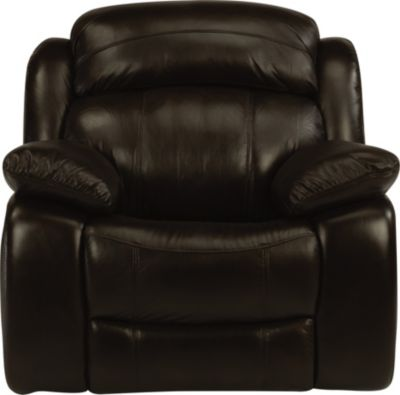 Flexsteel Como Leather Power Glider Recliner