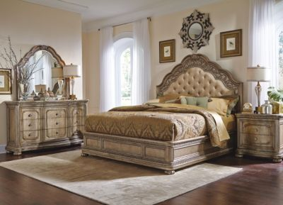 Flexsteel San Cristobal 4-Piece King Bedroom Set