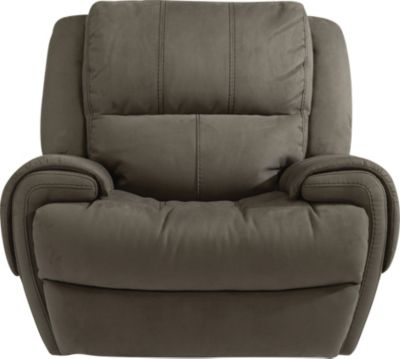 Flexsteel Nance Power Glider Recliner w/Power Headrest