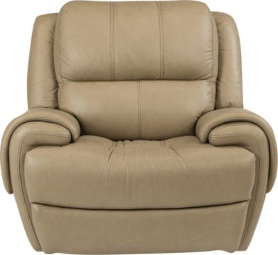 Flexsteel Nance Ltr Power Glider Recliner w/Pwr Headrest