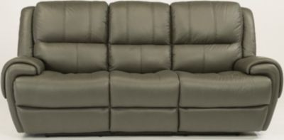 Flexsteel Nance Ltr Power Reclining Sofa w/Pwr Headrest