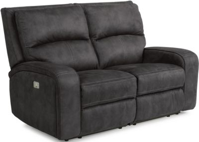 Flexsteel Rhapsody Power Reclining Loveseat w/Pwr Headrest