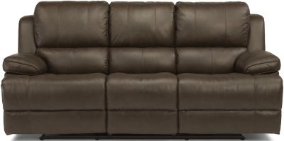 Flexsteel Simon Leather Power Reclining Sofa