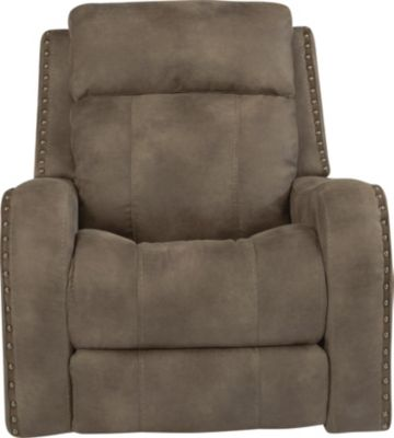 Flexsteel Springfield Power Glider Recliner w/Pwr Headrest