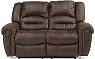 Flexsteel Downtown Power Recline Loveseat w/ Power Headrest