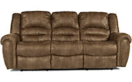 Flexsteel Downtown Power Recline Sofa w/Power Headrests