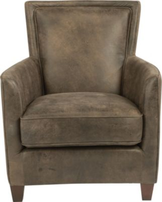 Flexsteel Kingston Antique Brown 100% Leather Chair