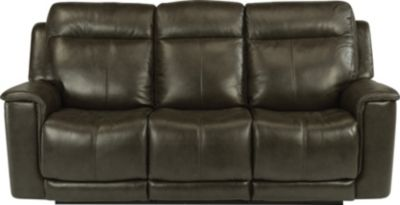 Flexsteel Miller Power Recline Leather Sofa