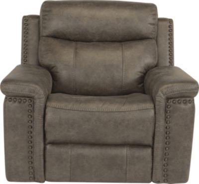 Flexsteel Trevor Recliner Glider with Power Headrest