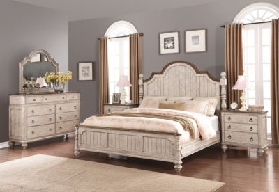Flexsteel Plymouth 4-Piece King Bedroom Set