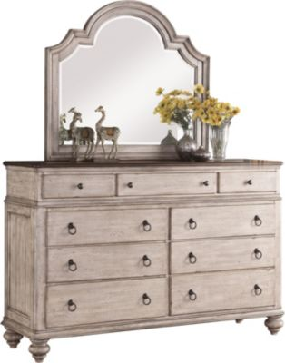 Flexsteel Plymouth Dresser With Mirror