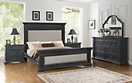 Flexsteel Charleston 4-Piece Queen Bedroom Set