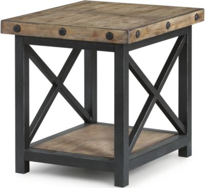 Flexsteel Carpenter Light End Table