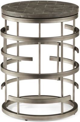 Flexsteel Halo Chairside Table