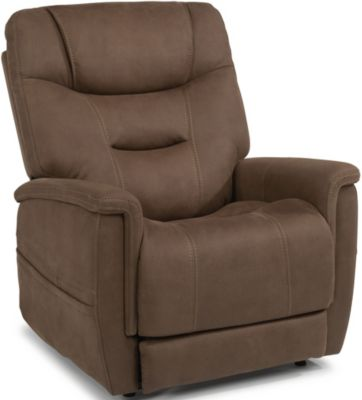 Flexsteel Shaw Lift Recliner with Power Headrest & Lumbar