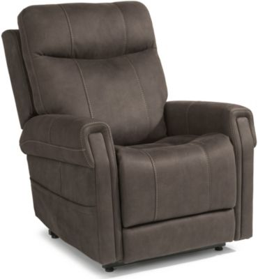 Flexsteel Jenkins Lift Chair with Power Headrest & Lumbar