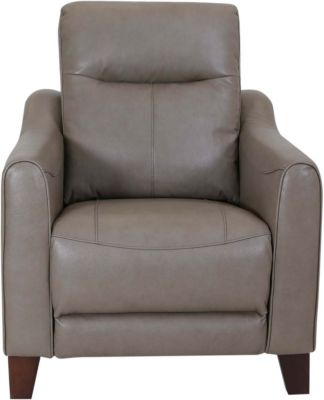 Flexsteel Forte Leather Power Headrest Recliner