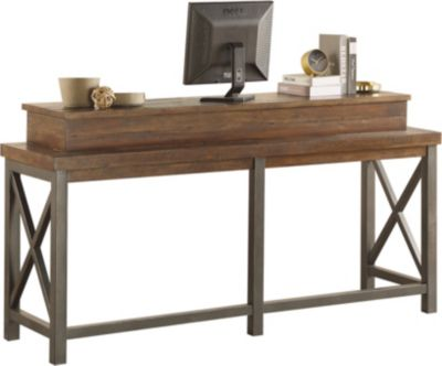 Flexsteel Flexsteel Carpenter Dark Work Console
