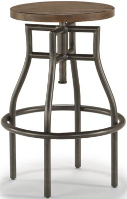Flexsteel Flexsteel Carpenter Dark Work Stool