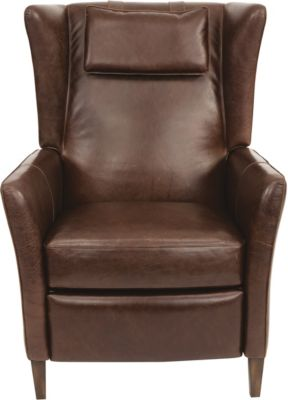 Oswald 100% Leather Power Recliner