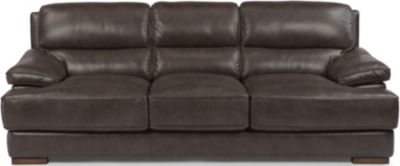 Flexsteel Jade Kodiak Leather Sofa