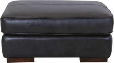 Flexsteel Jade Kodiak Leather Ottoman