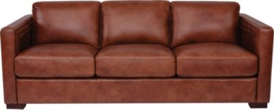 Flexsteel Milan 100% Leather Sofa