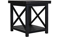 Flexsteel Carpenter Dark End Table