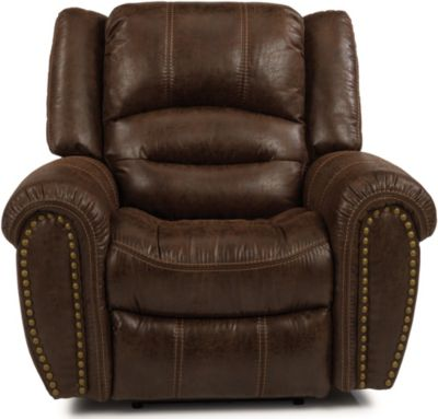 Flexsteel Town Brown Recliner