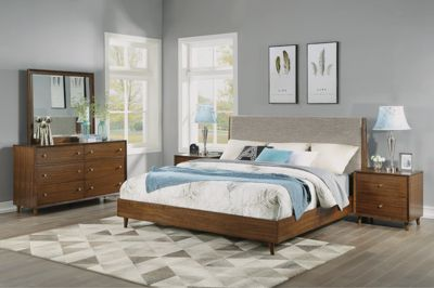 Flexsteel Ludwig 4-Piece Queen Bedroom Set