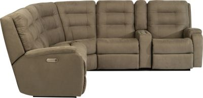 Flexsteel Arlo 6-Piece Power Motion Sectional