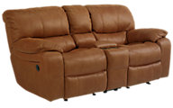 Flexsteel Grandview Power Reclining Loveseat with Console