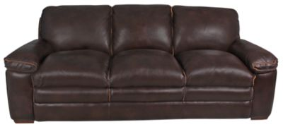 Flexsteel Penthouse Leather Sofa Homemakers Furniture - Flexsteel sofa leather