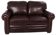 Flexsteel Harrison 100% Leather Loveseat