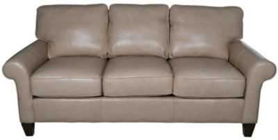 Flexsteel Westside 100 Leather Sofa