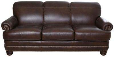 Flexsteel Bay Bridge 100 Leather Sofa