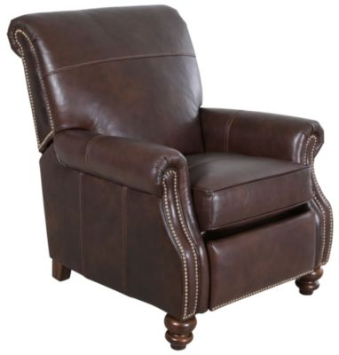 Flexsteel Bay Bridge 100% Leather High-Leg Recliner