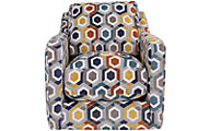 Franklin Tasha Swivel Accent Chair
