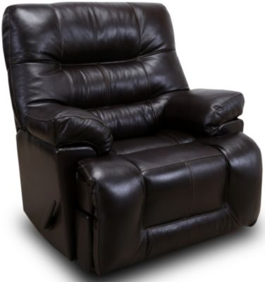 Franklin Boss Leather Rocker Recliner