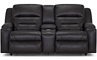 Franklin Beacon Power Headrest Lumbar Loveseat
